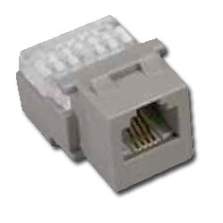 Allen Tel CAT 3 Compact 4 Conductor Jack Module