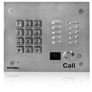 Viking Vandal Resistant Video Entry Phone with Keypad