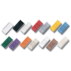 Siemon Clear Icon Tab (Package of 500)