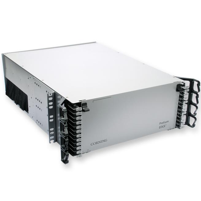 Corning  Pretium EDGE® 4 Rack Housing Unit, for Pretium EDGE® Solution Modules and Panels