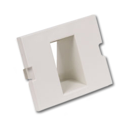 Hubbell Infin-e-Station Keystone - 1 Port/Recessed