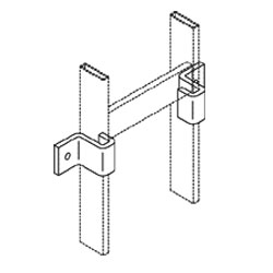 Chatsworth Products Vertical Wall Brackets