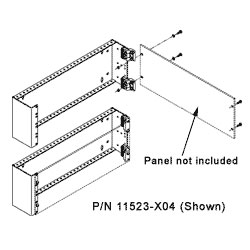 Chatsworth Products Hinged Panel Mounting Bracket 19