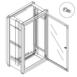 Chatsworth Products Wall Mount Cabinet 24