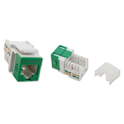 Suttle SpeedStar 8-Position, 8 Conductor CAT5e Data Jacks