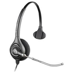 Plantronics HW251 SupraPlus Wideband Monaural Headset Quick Disconnect