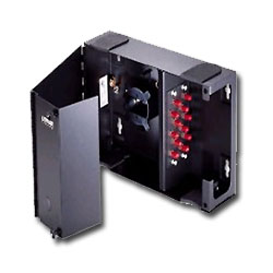 Leviton Wall-Mount Fiber Optic Patch Panel (Small/Empty/Split Door/Lock)