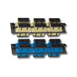 Allen Tel Loaded SM-SC/MM-SC Duplex Mounting Panel