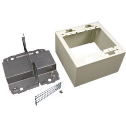 Legrand - Wiremold 2400D Series 2 Gang Divided Device Box Fitting