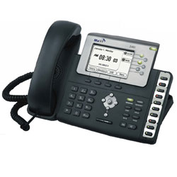 MaVI Systems 346i 11-Line  IP Phone with Graphical LCD Screen