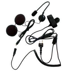Pryme SPM-800 Series Medium Duty In-Helmet Mic for Icom/Maxon/Ritron/Vertex Radios - 3/4