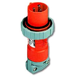 Leviton 277/480  AC 3-Phase 4P5W Wiring Watertight Pin and Sleeve Plug