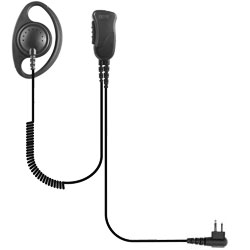 Pryme SPM-1200 Series Medium Duty Lapel Mic for Midland LXT and GXT Radios