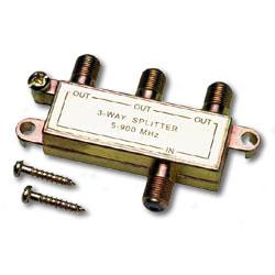 Allen Tel Coaxial Splitter - 3 Way