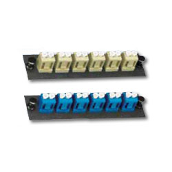 Allen Tel Loaded SM-LC/MM-LC Duplex Mounting Panel