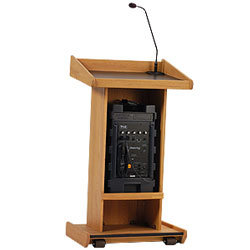 Anchor Audio Admiral Portable Lectern System with Sound System