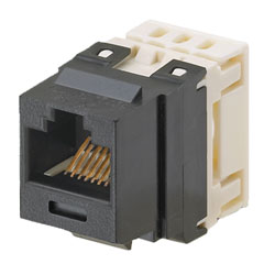Panduit® NetKey Category 6, 8-Position, 8-Wire, Punchdown UTP Jack Module