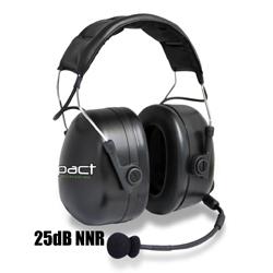 Impact Radio Accessories Platinum Series Over The Head Double Muff Headset
