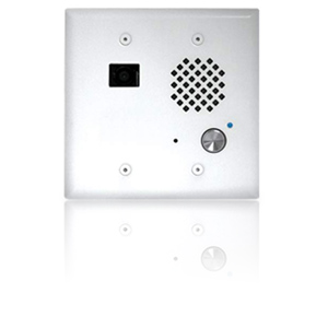 Viking VoIP Entry Phone Mount in a Standard Double Gang Box (White)