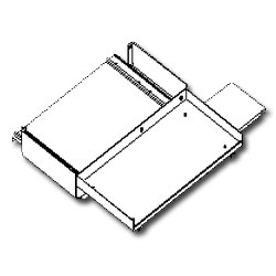 Southwest Data Products Full Size Sliding Keyboard and Mouse Tray