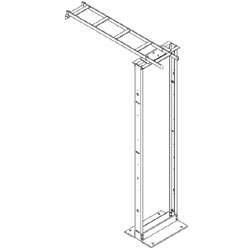 Chatsworth Products Cable Runway Wall to High Density Frames and CatRacks with 6 Inch Deep Mounting Channels