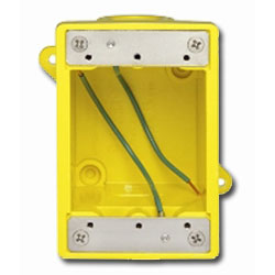 Leviton FD Box with 2 Knock Out Openings