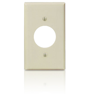 Leviton Urea 1 Gang Single Receptacle Wallplate