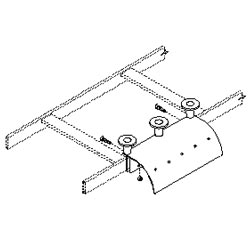 Southwest Data Products Cable Runway Stringer Radius Drop