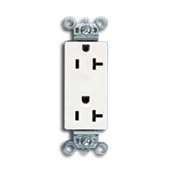 Panduit® 20A Rectangular Outlet (Pkg of 10)