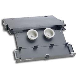 Panduit® Opticom Rack Mount Fiber Enclosure - 3 Panels