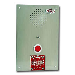 Ceeco Automatic Dialing Push Button Emergency Phone