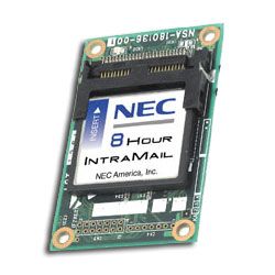 NEC 8-Port IntraMail Voice Mail System