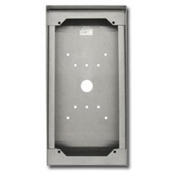 Aiphone Stainless Steel Surface Mount Box for AX-DVF-P, JF-DVF-HID, JK-DVF-HID