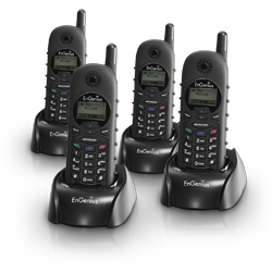 EnGenius DuraFon 1X Cordless Expansion Handset (Package of 4)