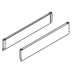 Chatsworth Products Slip-On Cover for Lrg Horizontal Ring Panel