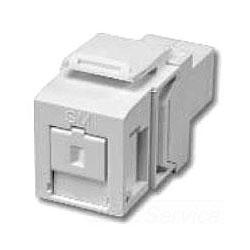 Leviton QuickPort Multimode Simplex SC Adapter Module, Phos Bronze