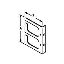 Chatsworth Products Horizontal Cable Guides (Rack-Mounted) - Two Loop