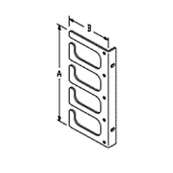 Chatsworth Products Horizontal Cable Guides (Rack-Mounted) - Four Loop