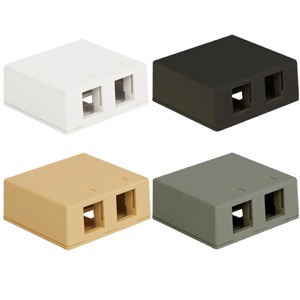 ICC 2-Port Surface Mount Box
