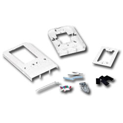 Siemon Fiber Outlet Box with Extended Cover