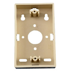 Allen Tel Work Area Outlets - Surface Deep Mounting Box for AT70 Series 1-7/8