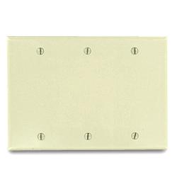 Leviton 3-Gang Blank Plate