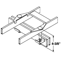 Chatsworth Products Spanner Clip, Cable Runway