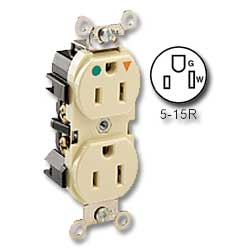 Leviton Insolated Ground Duplex Receptacle
