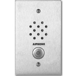 Aiphone Flush Mount Vandal Resistant SS 1-Gang Sub