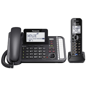 Panasonic 2 -Line Corded/Cordless Expandable Link2Cell Telephone System
