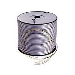 Lynn Electronics Silver Satin Phone Line Cord - 4 Conductor Spool