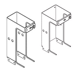 Chatsworth Products One-Foot Single-Sided Vertical Cabling Section Extensions