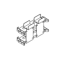 Chatsworth Products 600 Pair Manager for 19