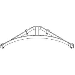 Chatsworth Products Cable Runway Corner Bracket